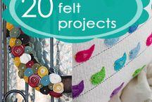 Felt crafts / by Stephanie Packer-Henderson