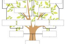 Genealogy Family Trees & Crafts / by Marilyn Henley