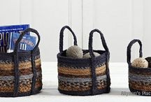 Primitive Braided Baskets / by Allyson's Place