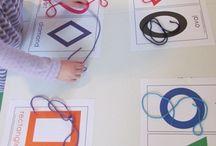Kinder Maths Ideas / by Melissa Pitson