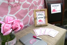 Pink Safari Elephant Shower / by Honeycomb Events & Design