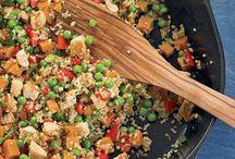 quinoa recipes / by Kara MacPhee