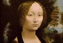 "Art / ""Painting is poetry that is seen rather than felt, and poetry is painting that is felt rather than seen.""  ― Leonardo da Vinci / by Laura Goodrich"