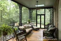 Home: Back Porch Ideas / by Karissa Greathouse