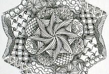 ZEN 8 point circle / by Janice Swift