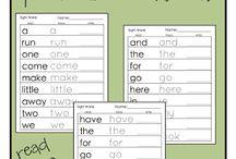 PreK Word Work & Reading / by Khadija