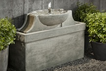 Contemporary/Modern Outdoor Decor / Modern and contemporary accent for your outdoor space, from planters to birdbaths, fountains and more. / by Garden-Fountains.com