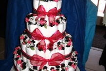 Something Sweet / I've been told to put my crafts on this site. It's knitting, sewing, diaper cakes, events that I've decorated... Enjoy. / by Kira Leon