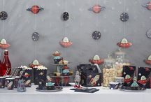 Space, Robots & Planets Kids Party Range / Kids Space party decorations, cakes, accessories / by Ginger Ray