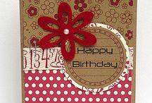 Birthday cards / by Sherry Larson