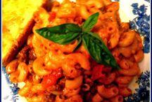 pasta love! / by Yvette Edwards