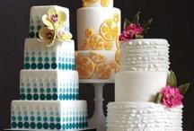 Wedding cake, pièce-montée / Wedding cakes, pièce-montée, idées gâteaux de mariage / by Lynda Mence