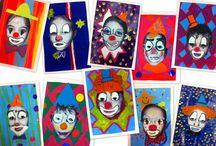 cirque - circus / by Gdine De Trousse et Cartable