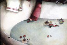 Rebecca Dautremer's work / by Elisabeth Couloigner