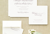 "text & formal invitations / Inspiration board for psalm27creative wedding invites for Candace & Chris (the ""fancy"" version) / by Mary Clark Guillory"