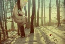 Illustration Inspiration / by Mikayla Jenkins