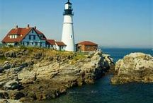 Wedding at MAINE LIGHTHOUSE / by Hand In