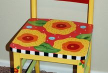Sillas y Mesas / chairs and tables / by Mercy Me