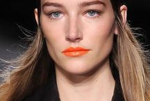 Orange lips Spring 2014 / by The Beauty Effect by Eugenia Debayle