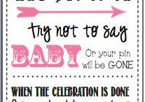 Baby shower games/decorations / by Annette Silva-Bonnerjee