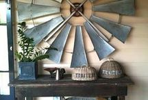 Rustic Country Chic Design and Decor / by Pamela Strother