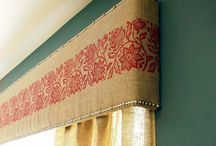 Window treatments and tutorials / Beautiful window treatments to put in a room with lots of tutorials to get those windows covered  / by Cre8tive Designs Inc.