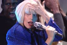 """Lady Gaga Wigs from the MTV Video Music Award / Highlights of the Lady Gaga """"Applause"""" Performance from the MTV VMA's.  She turned heads as with her act and quickly changed her look on stage by swapping out her wigs! / by Wig Salon"""