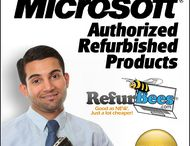 RefurBees / Join the RefurBees affiliate program at ShareASale and earn $$$ on sales referred to RefurBees, a Microsoft Authorized Refurbisher. Perfect for students! / by Snow Consulting