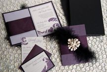 wedding invitations / by Floral Occasions by Kelli