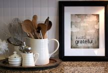 Kitchen / by Jessica {Prairie Girl To Southern Belle}