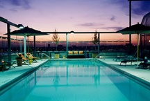 Gorgeous Hotel Pools / As the mercury rises this summer, splash out on one of our favourite hotel pools... / by ELLE UK