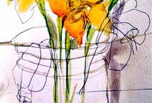 watercolors / by mrscoffee