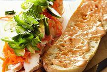 Snacks/quesadillas/pizzas/sandwiches / by Christine Cananzi Lawson