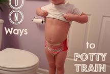 Potty training / by Rhonda Bennett