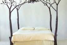 "Headboards & Bedframes / by Lisa ""Feistylis"" Menke"