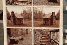old window ideas / by Cathy Stewart