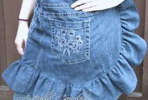 Up-Cycled Jeans/ Denim / by Aunt Pitty Pat