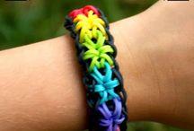 Loom Bracelets / by Arlene Friedel