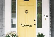 Front Door and Porch / by Gayla Wilson