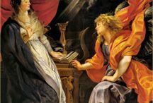 Peter Paul Rubens / 1577-1640 Flemish Baroque Painter Periods:  Baroque, Antwerp School / by Karen Nichvalodoff