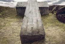 the cross / by Mary Vella