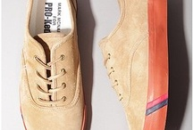 Men's Fashion - Footwear / Cool kicks. The coolest men's shoes I can find. / by Jamie Quint