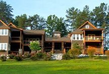 South Carolina Romantic Places / We are a boutique Bed & Breakfast located in the South Carolina Blue Ridge Mountains. Long range mountain views, romance, fireplaces, whirlpool tubs await. / by Three Pines View