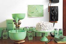 Vintage Kitchen Stuff / by LeAnn Cleveland