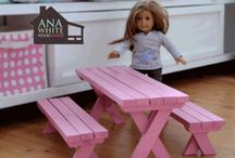 American girl  projects / by Kathy Lincoln