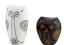 SALT & PEPP-OWL SHAKERS / Im starting a salt/pepper collection with owls to replace my extensive shot glass collection since my kitchen theme is owls now / by Kat Matthews