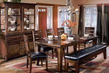 Ashley Furniture Living Room Sets Dinning room / Dinning room and kitchen furniture for your home / by ...