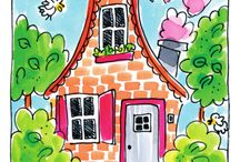 House illustrations / by Susanne Mackenzie