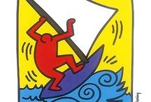 ART : Keith Haring / by Claire-M ... La Vie est belle !