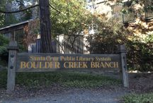 Boulder Creek Branch Library / Our Boulder Creek Branch Library located at 13390 West Park Avenue Boulder Creek, CA 95006-9301 / by Santa Cruz Public Libraries